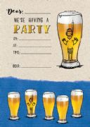 Jelly n Bean Beer Birthday Party Invitations - Pack of 20